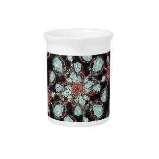 Modelo de lujo refinado jarra de beber