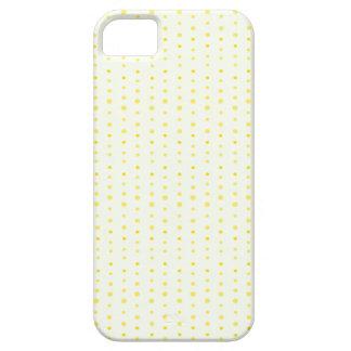 Modelo de lunar amarillo iPhone 5 cárcasa