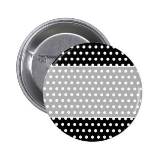 Modelo de lunar blanco y negro. Manchado Pin