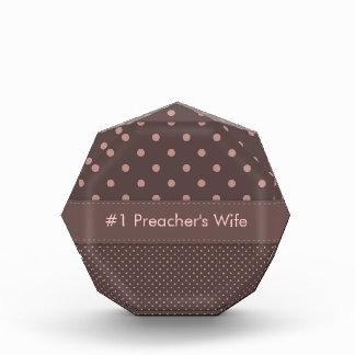 Modelo de lunar de la esposa del predicador