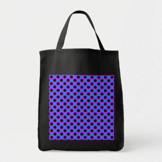 Modelo de lunar vibrante bolsa tela para la compra