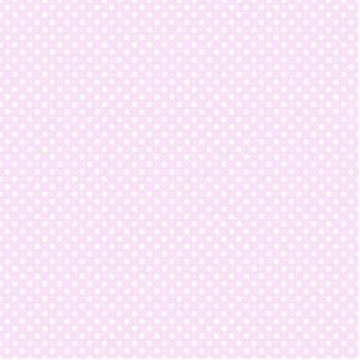 Modelo de lunares blanco rosado de moda lindo fotoescultura vertical