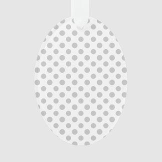 Modelo de lunares del blanco gris