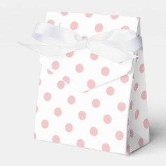 Modelo de lunares rosado caja para regalos