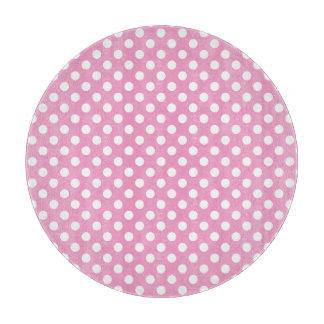 Modelo de lunares rosado lindo