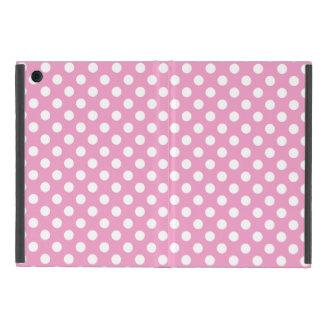 Modelo de lunares rosado lindo iPad mini protectores