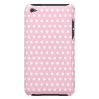 Modelo de lunares rosado y blanco iPod touch Case-Mate cobertura