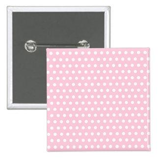 Modelo de lunares rosado y blanco pins