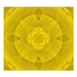 Modelo de madera abstracto amarillo fotografía
