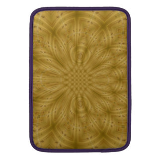 Modelo de madera abstracto funda macbook air