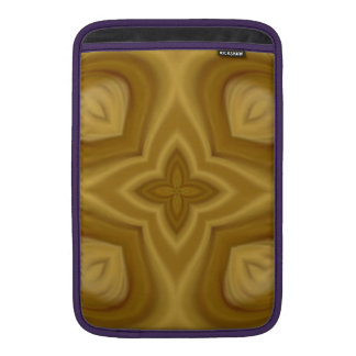 Modelo de madera abstracto funda para macbook air