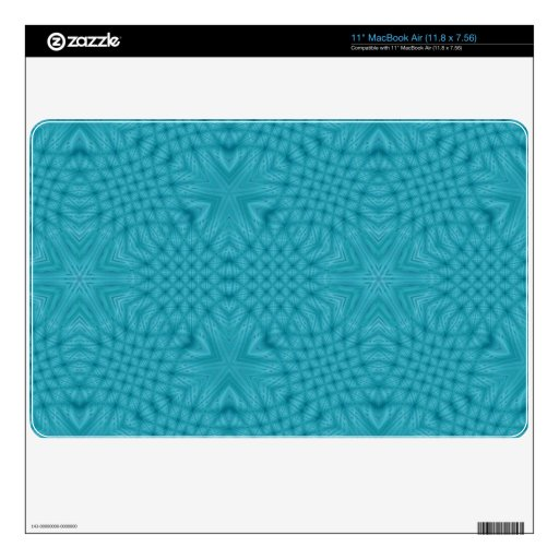 Modelo de madera abstracto MacBook air skins