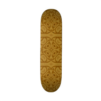 "modelo de madera abstracto patineta 7 7/8"""