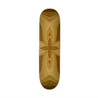 Modelo de madera abstracto skate board