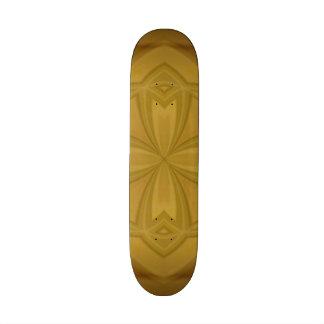 Modelo de madera abstracto patin