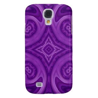 Modelo de madera abstracto púrpura