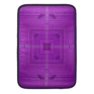 Modelo de madera abstracto púrpura funda macbook air