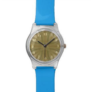 Modelo de madera abstracto relojes