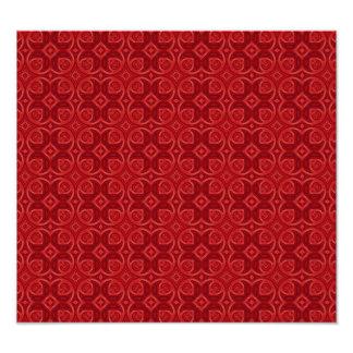 Modelo de madera abstracto rojo fotografía