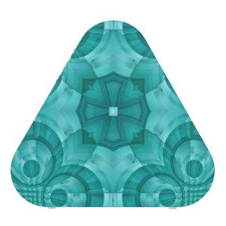 Modelo de madera azul abstracto altavoz bluetooth