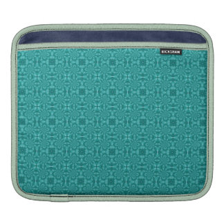 Modelo de madera azul abstracto manga de iPad