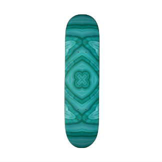 Modelo de madera azul abstracto patin personalizado