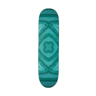 Modelo de madera azul abstracto skateboards