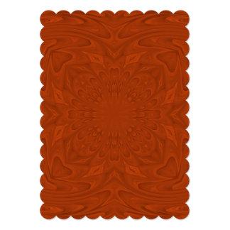 Modelo de madera coloreado rojizo de la comunicados