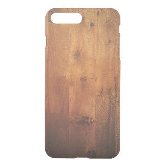 Modelo de madera de la mirada de la viruta de fundas para iPhone 7 plus