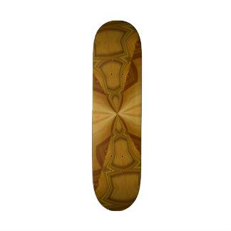 Modelo de madera decorativo tabla de skate