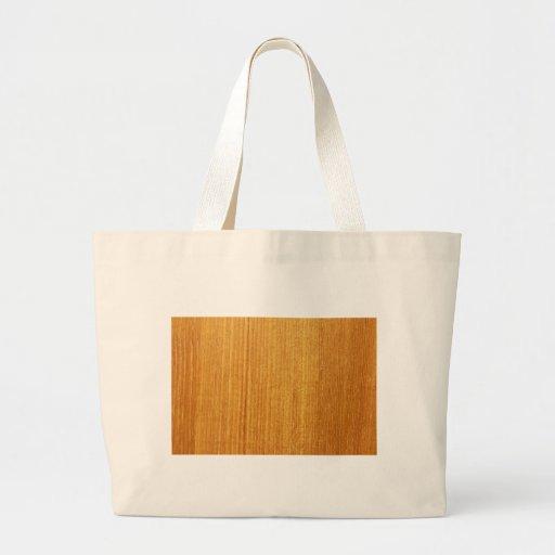 Modelo de madera del grano bolsa