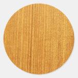 Modelo de madera del grano etiqueta