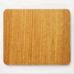 Modelo de madera del grano tapetes de ratón