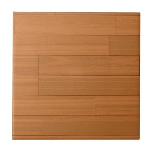 Modelo de madera del piso de entarimado azulejo cuadrado pequeño