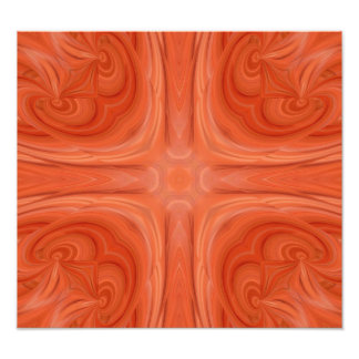 Modelo de madera elegante azul anaranjado arte con fotos