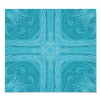 Modelo de madera elegante azul cojinete