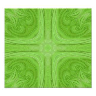 Modelo de madera elegante verde arte fotográfico