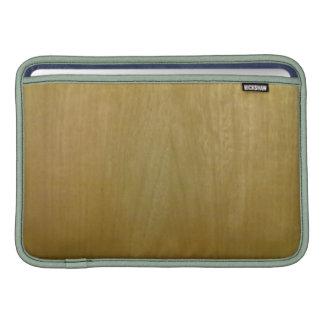 Modelo de madera fundas macbook air
