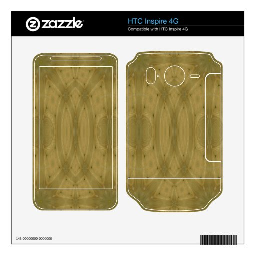 Modelo de madera HTC inspire 4G skin