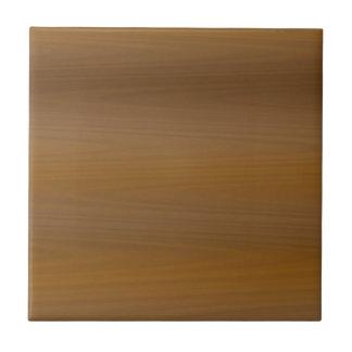 Modelo de madera marrón claro de moda del grano azulejo cuadrado pequeño