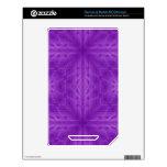 Modelo de madera púrpura de la textura NOOK color calcomanía