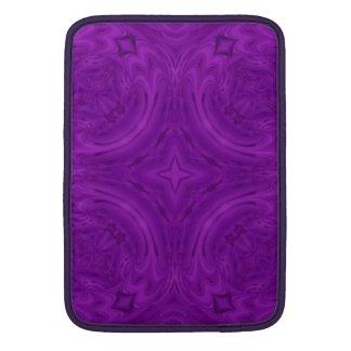 Modelo de madera púrpura moderno fundas macbook air