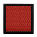 Modelo de madera rojo abstracto cajas de regalo