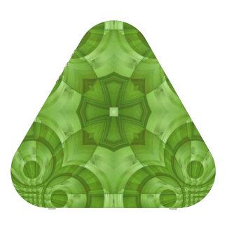Modelo de madera verde abstracto altavoz bluetooth
