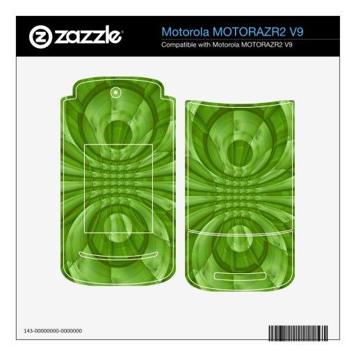 Modelo de madera verde abstracto MOTORAZR2 v9 skins