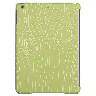 Modelo de madera verde retro lindo del grano