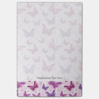 modelo de mariposa 3 post-it® notas