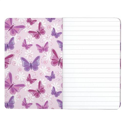 modelo de mariposa cuadernos grapados
