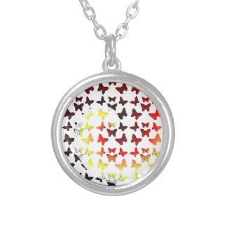 Modelo de mariposa del remolino del color del otoñ joyeria personalizada