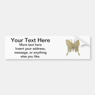 Modelo de mariposa pegatina para auto
